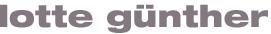 Lotte Günther Malerei Logo